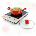 cookware in red