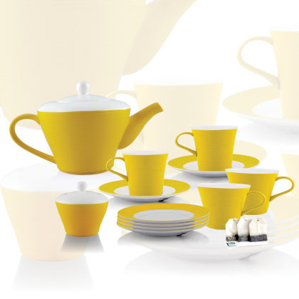 Tea Set (Rainbow)